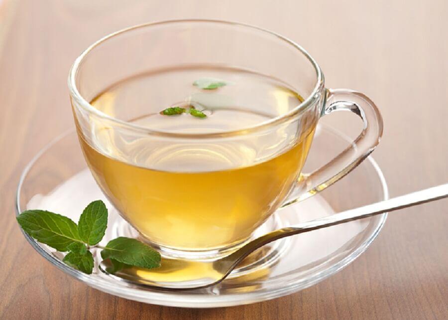 Infusión de té verde para bajar de peso