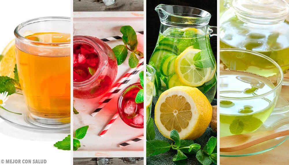 Elimina las toxinas con estas 4 bebidas con menta
