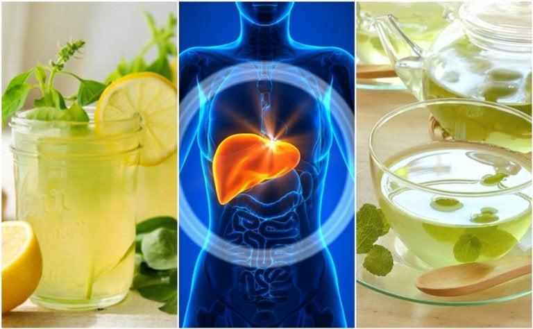 Limpia tu hígado mientras duermes preparando estas 5 bebidas