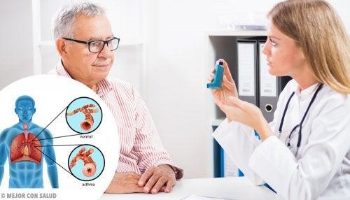 Tipos de inhaladores para el tratamiento del asma
