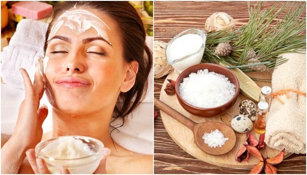Luce una piel limpia y suave con este exfoliante de aceite de coco y sal