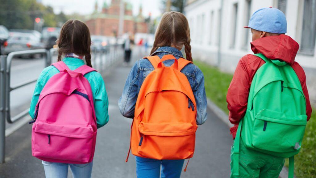Zaini per la scuola.