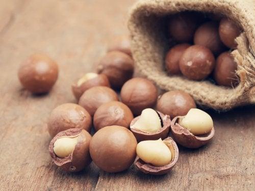 Nuez de macadamia para mejorar la fertilidad masculina