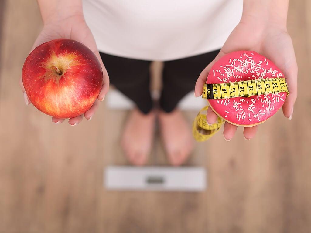 Perder peso inclinándose hacia algunos alimentos