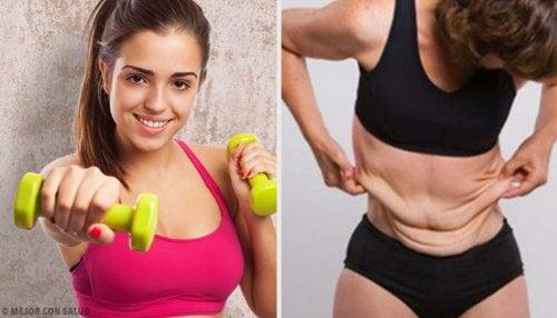 Que ejercicios te hace bajar de peso rapido