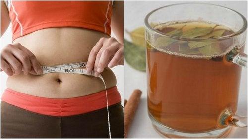 Reduce centímetros de cintura combinando dos ingredientes en un té