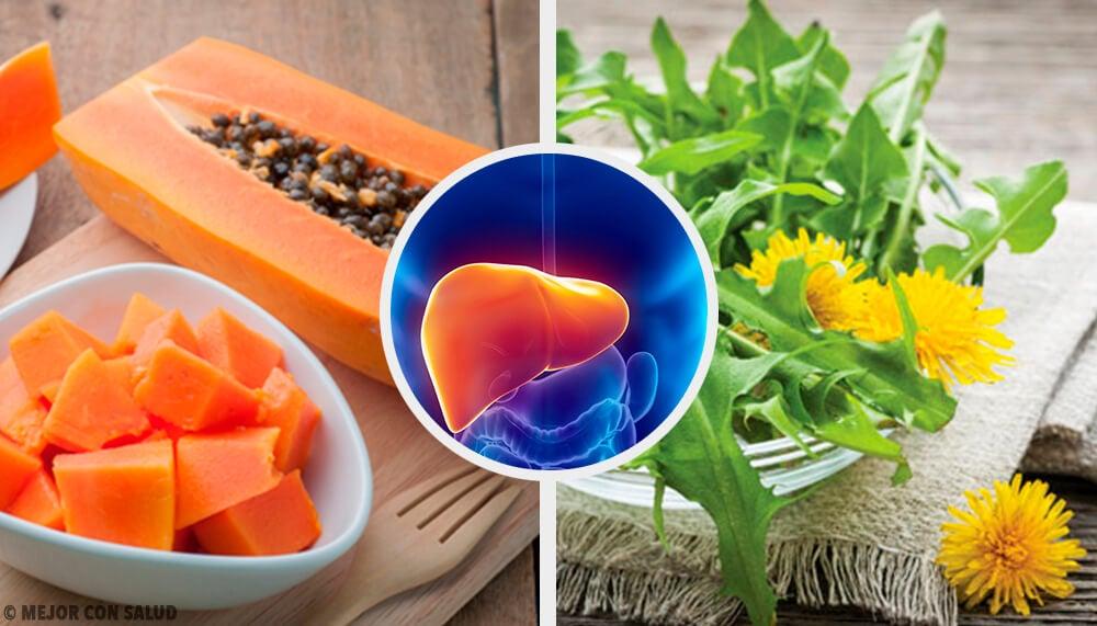 Remedios naturales para el hígado inflamado