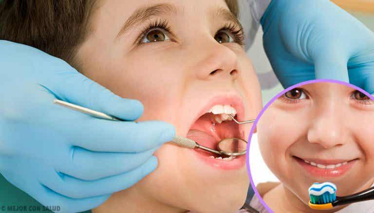 Revisión dental en los niños