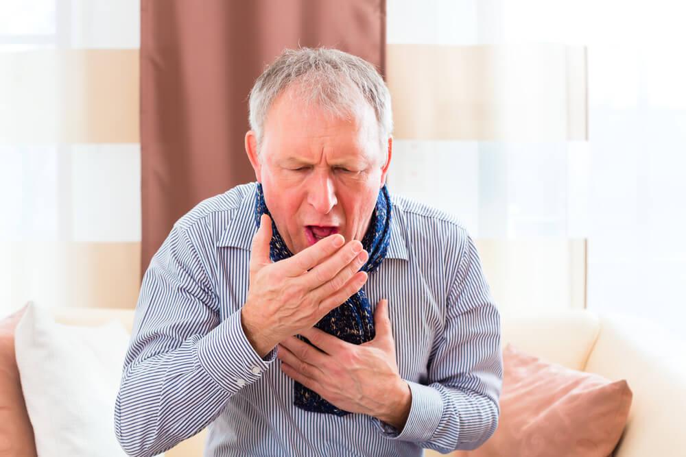 enfisema pulmonar con tos crónica