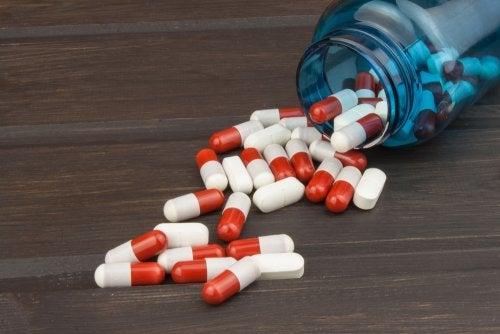 Tabletas de esteroides