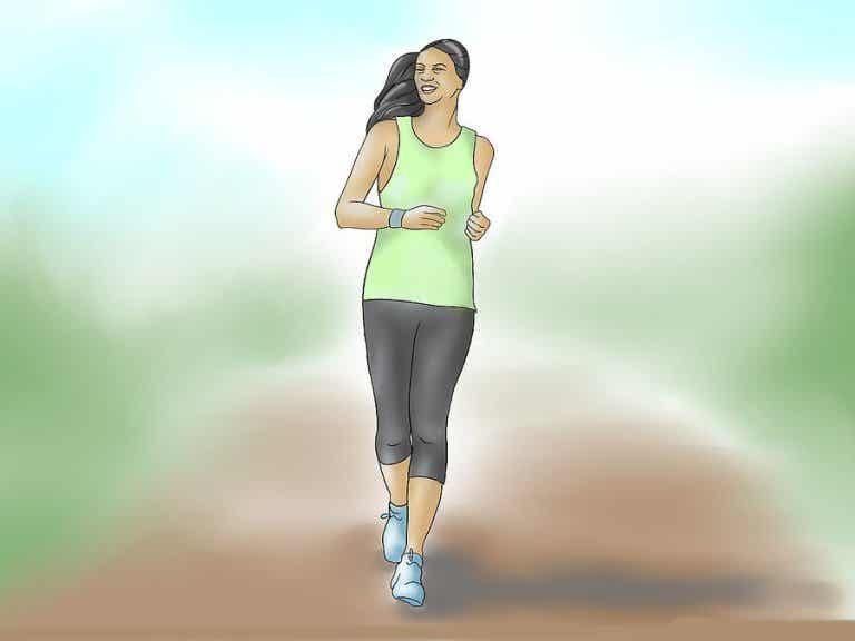 Una caminata diaria para mantener la forma física