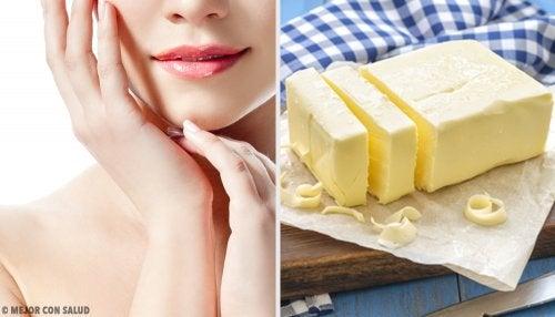 Usos beneficiosos de la mantequilla sobre la piel