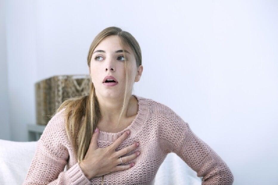 Tener sensación de ahogo puede ser una de las señales de infarto