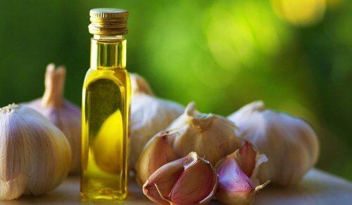ajo y aceite de oliva