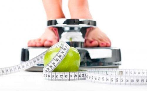 peso manzana verde