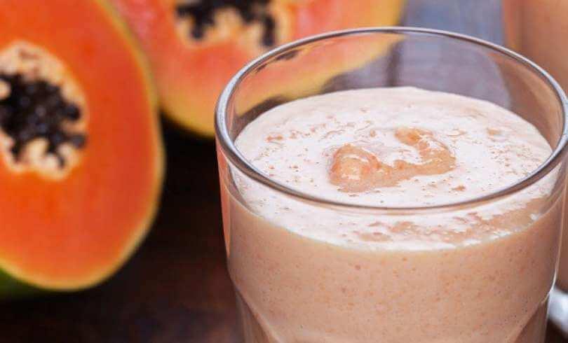 batido-papaya-leche-almendras