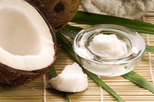 bicarbonato y aceite de coco