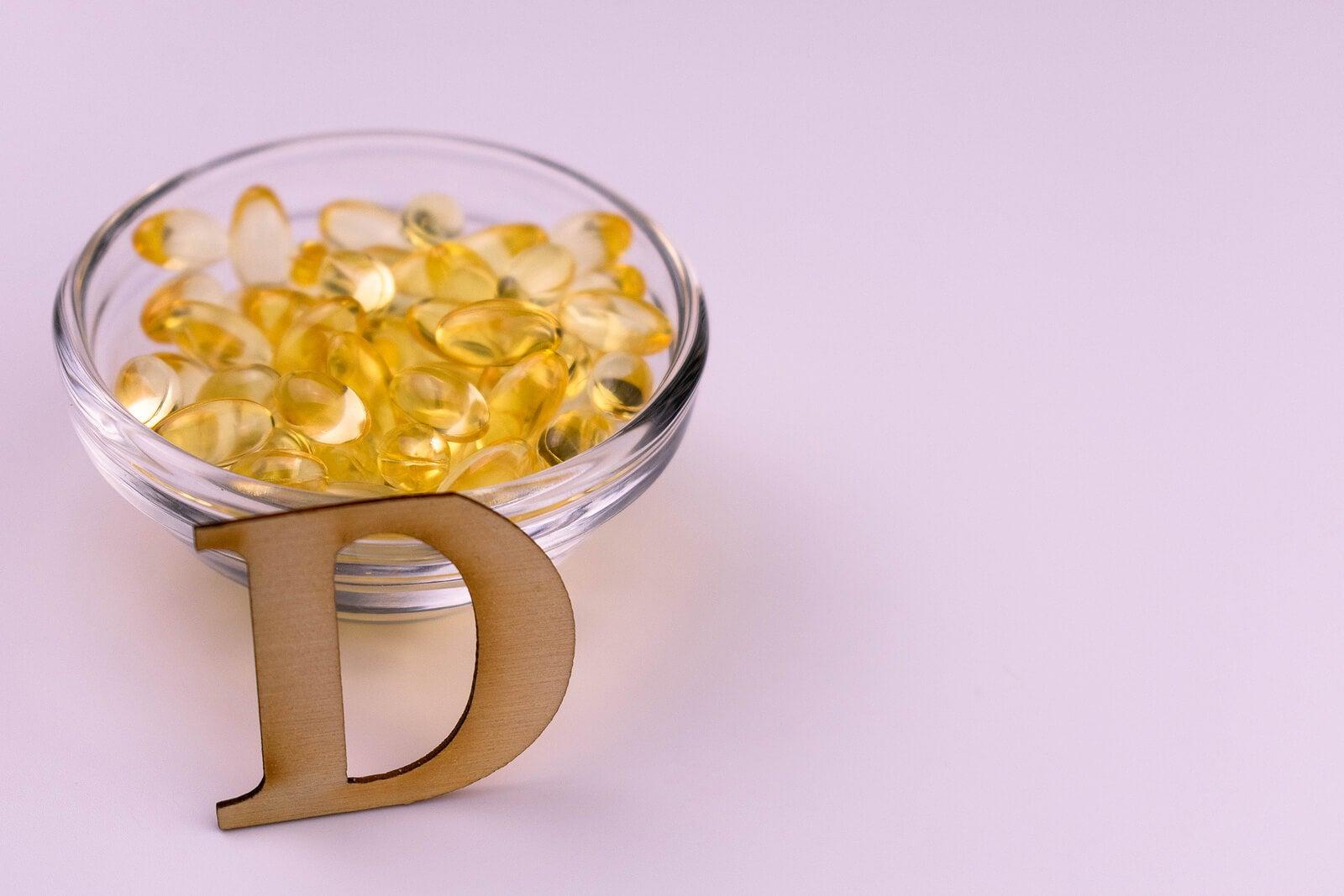 Suplemento de calcio y vitamina D.