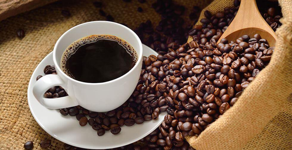 cafeína en los productos