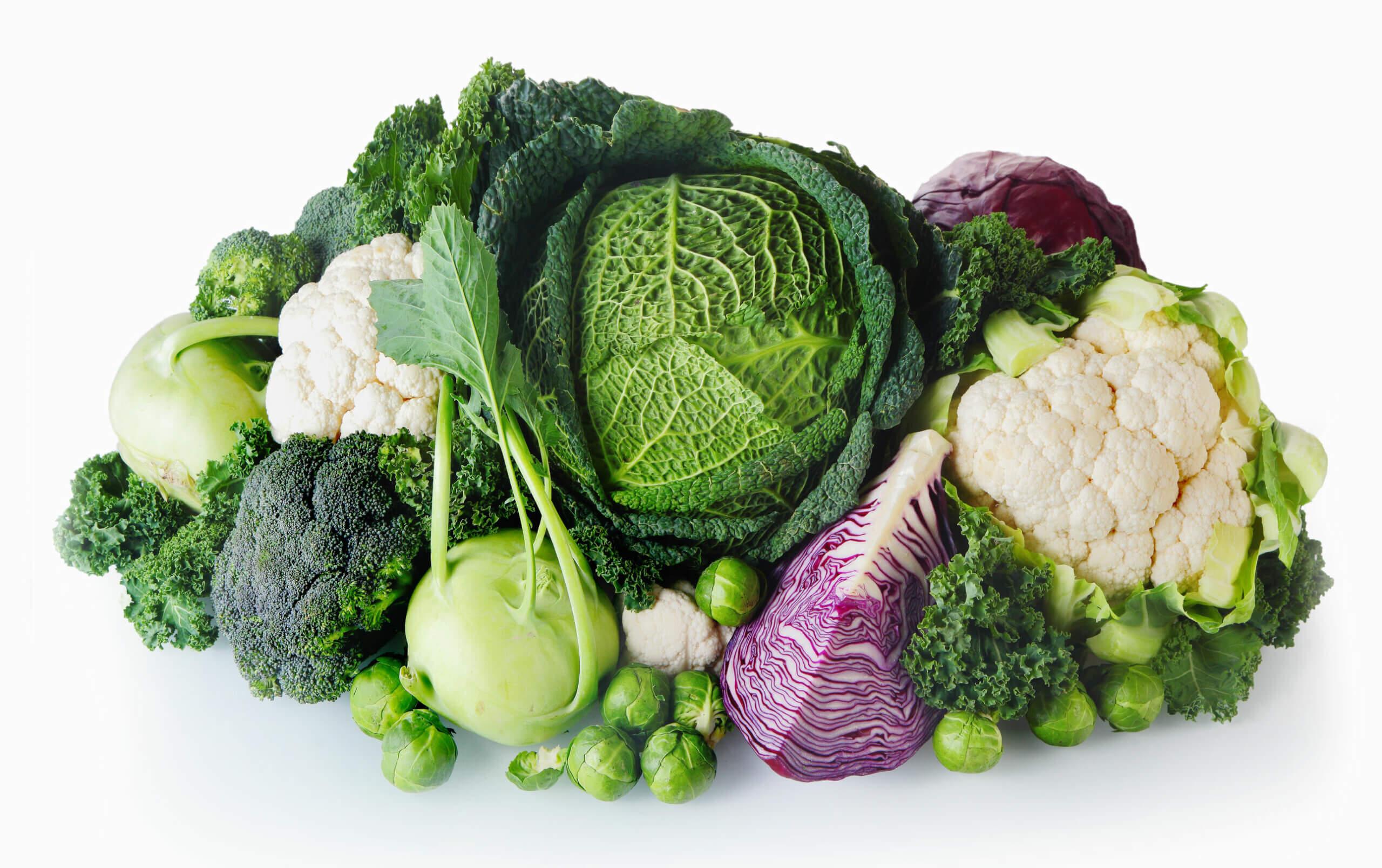 El calcio está presente en alimentos verdes.