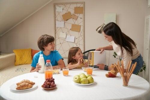 5 desayunos apropiados para niños