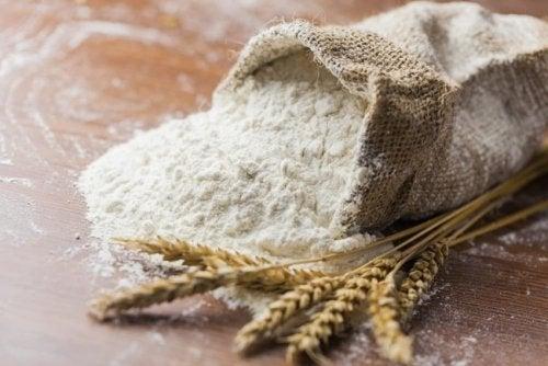 La harina de avena es muy saludable.