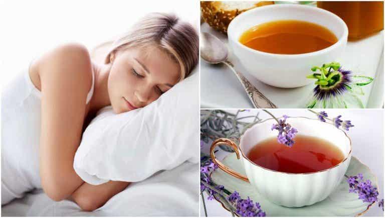 Cómo preparar 5 infusiones para dormir mejor por la noche