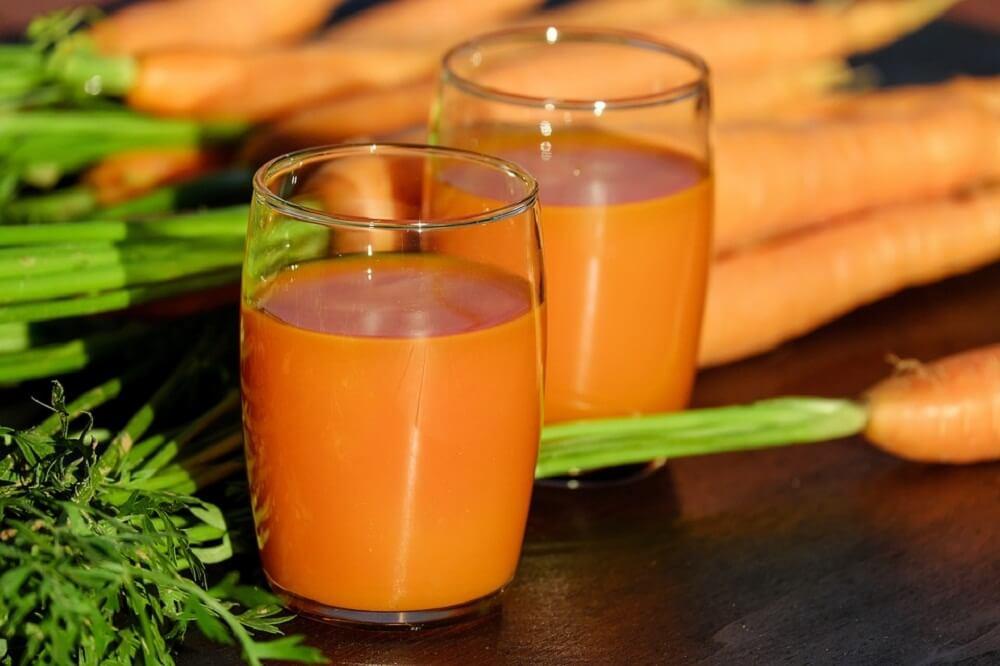 jugo zanahoria y cebolla