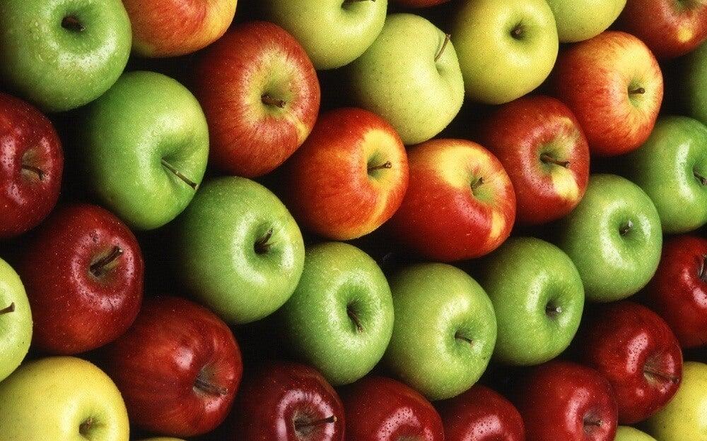 Manzanas.