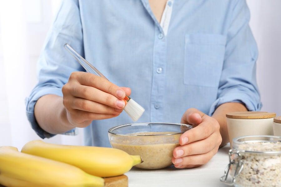 Plátanos para un cabello saludable