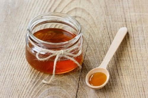 mascarillas faciales de miel