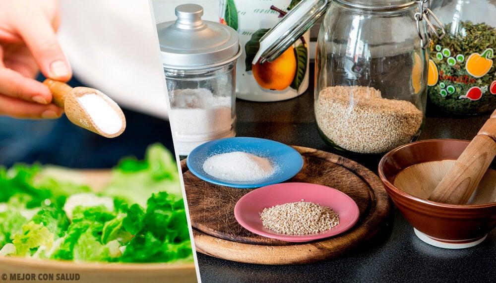 10 alternativas para evitar la sal en tu alimentación