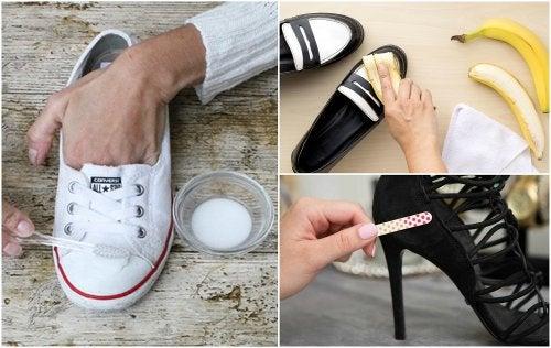 10 curiosos trucos para dejar tus zapatos como nuevos