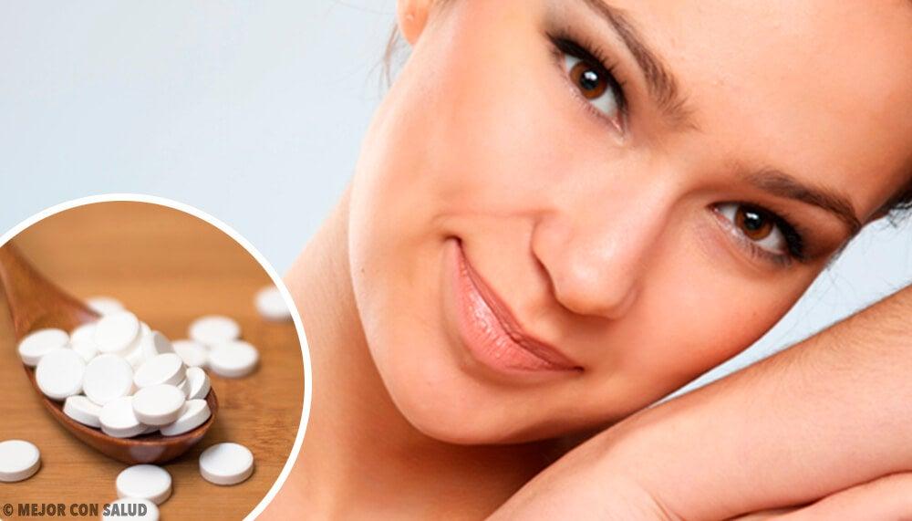 4 mascarillas con aspirina para una piel perfecta