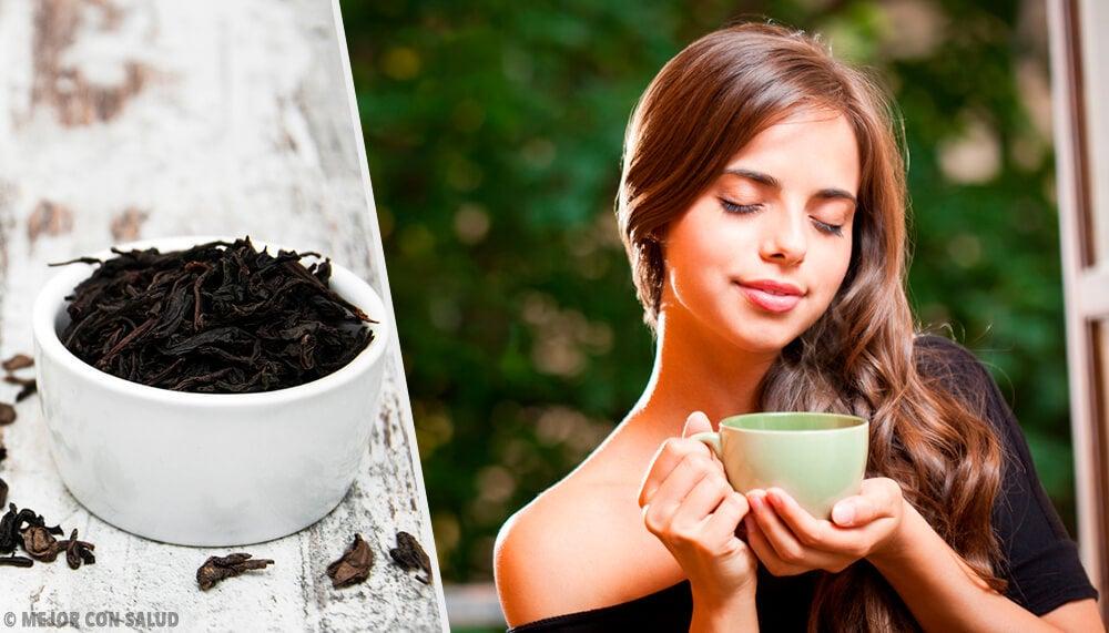 4 recetas con té negro para mejorar tu piel