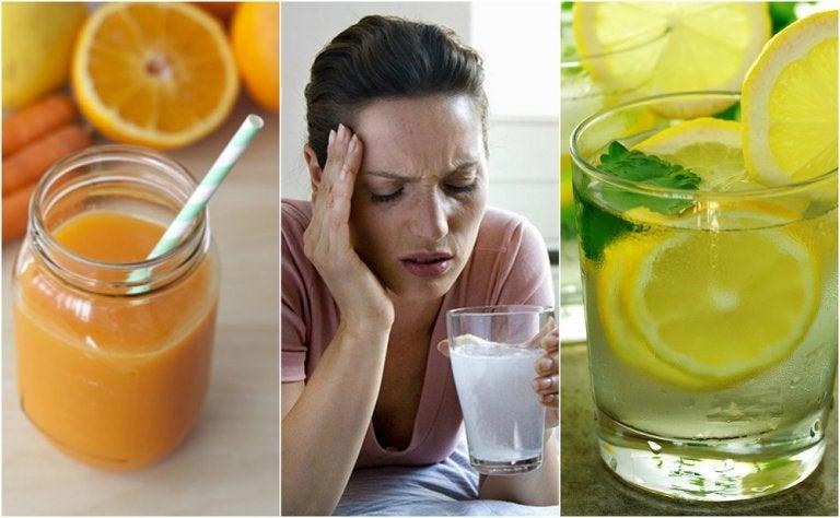 La resaca se quita con estas 5 bebidas naturales