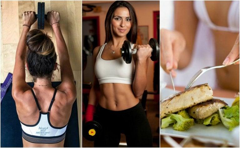 5 claves para aumentar la masa muscular y quemar grasa