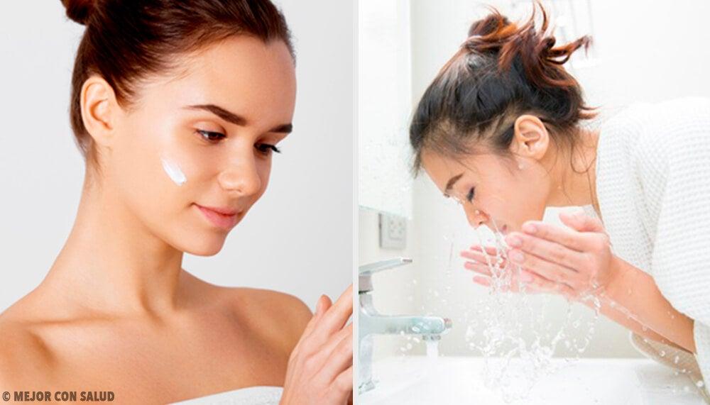 5 errores que cometes al limpiar tu rostro y envejecen tu piel