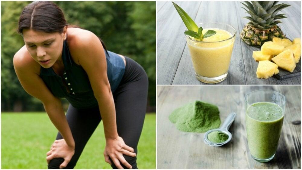 5 batidos para superar la fatiga muscular
