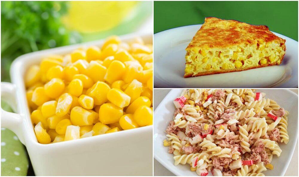5 platos deliciosos con maíz dulce