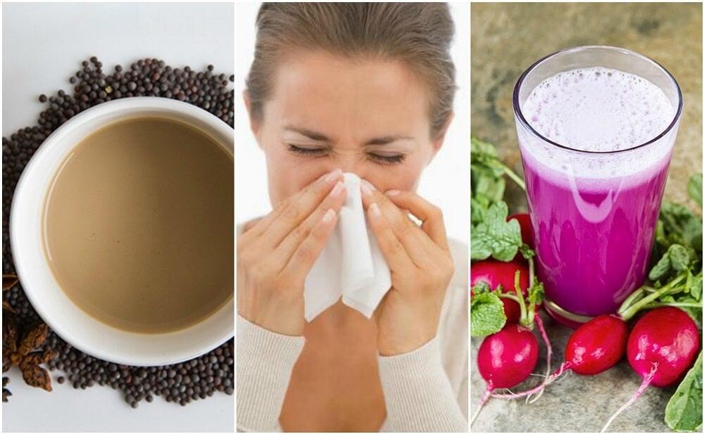 5 remedios caseros para reducir la congestión nasal