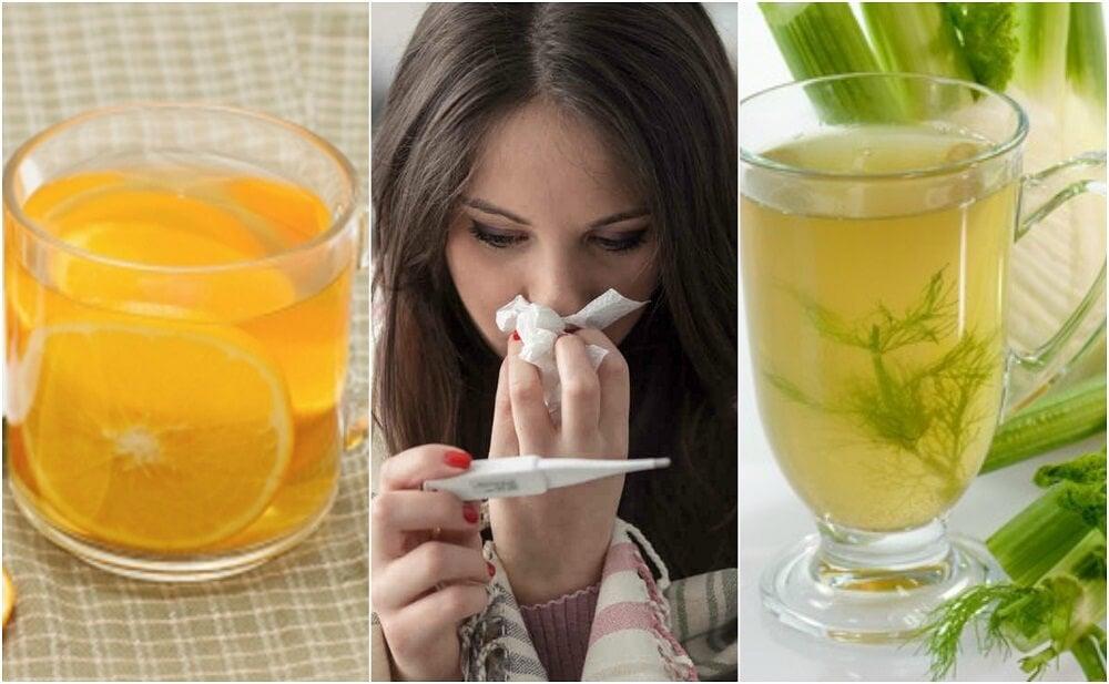 5 remedios para bajar la fiebre sin necesidad de medicamentos