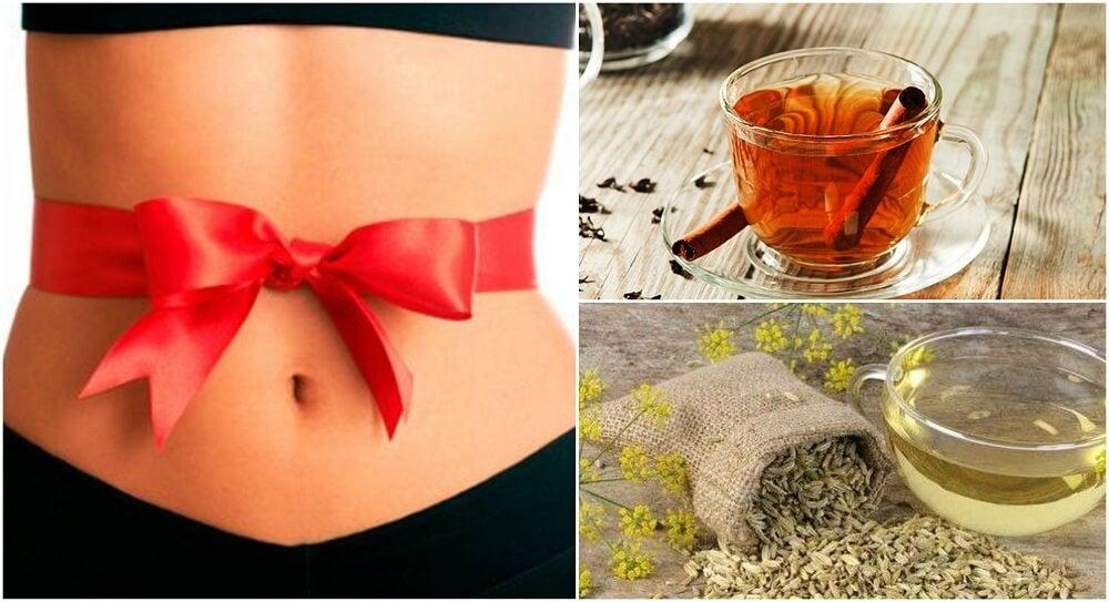 5 remedios para desinflamar tu abdomen por los excesos de navidad