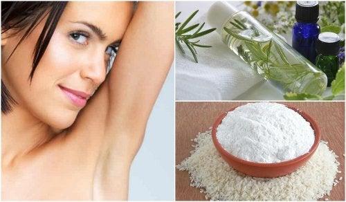 5 soluciones naturales para acabar con el mal olor en las axilas
