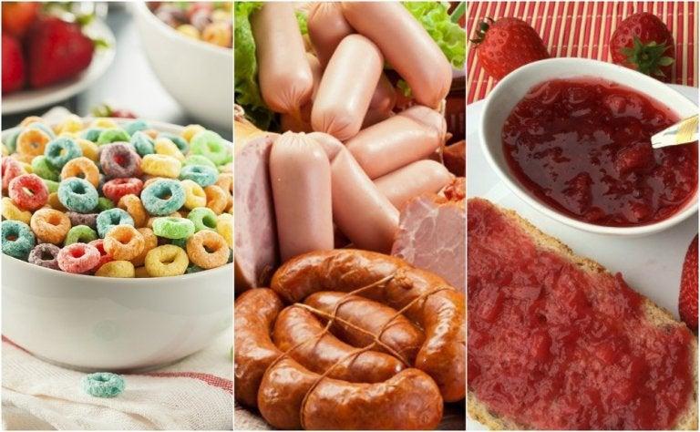 6 alimentos que no deberías consumir en tu desayuno