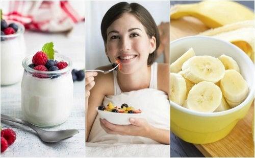 Comer yogur antes de dormir engorda