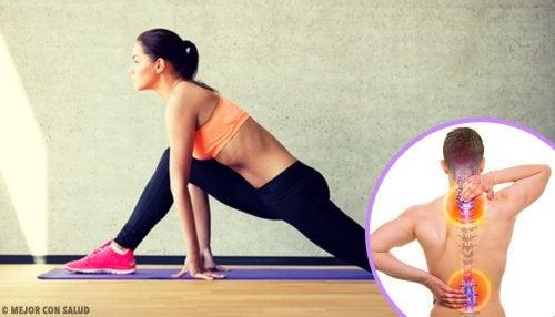 6 ejercicios para tonificar la espalda