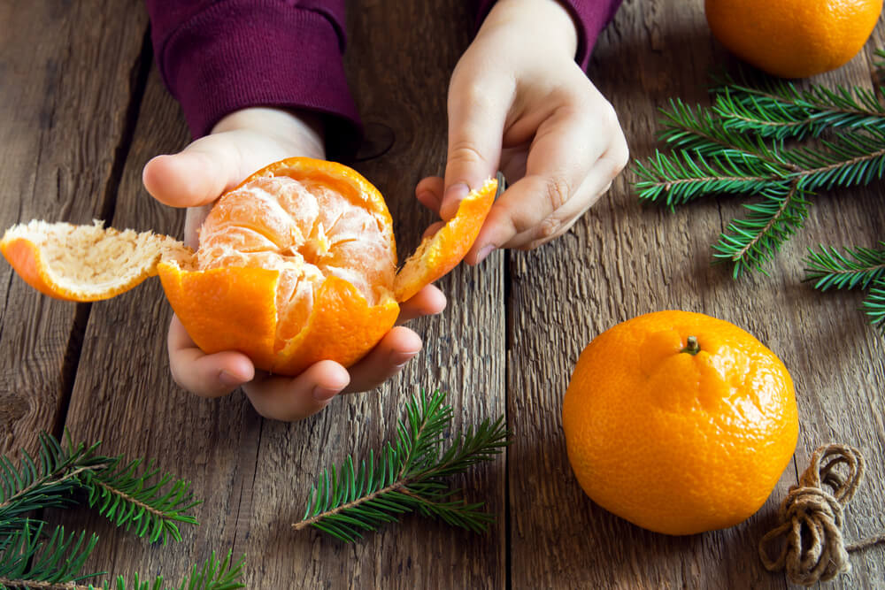 5 razones para consumir mandarina
