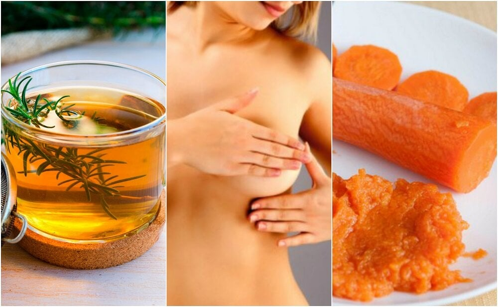 6 tratamientos de origen natural para calmar la mastitis