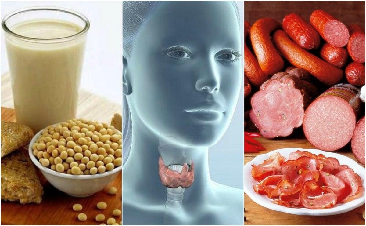 alimentos para evitar el hipertiroidismo